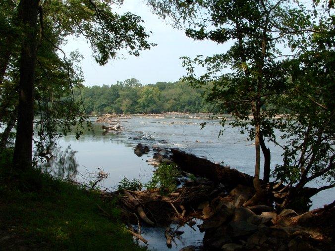 Landsford Canal Rapids 2