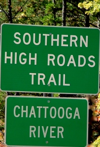 Chattooga River Sign
