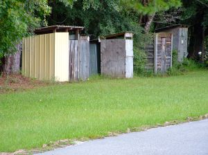 Privies: Old-fashioned comfort stations