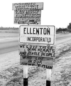 Sign Robert Bonner Made December 1950