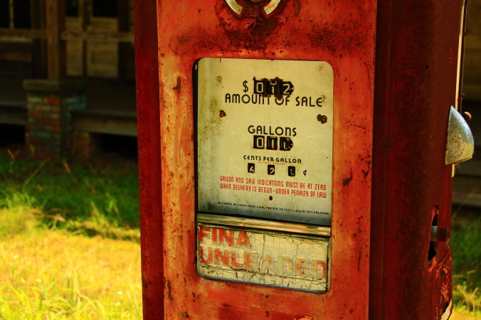 A Fondness For Old Gas Pumps | Tom Poland : A Southern Writer