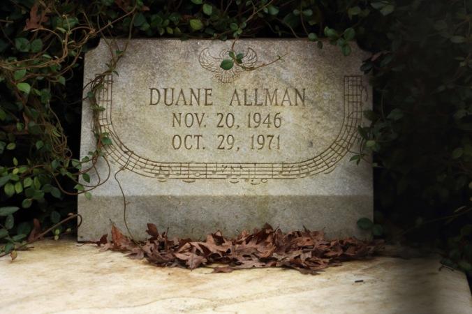 Duane Allman Grave